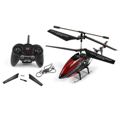 Az Import and Trading HG20 9 inch UDI U820 Mini 3CH 2. 4GHz Alloy RC Helicopter Red-Blue