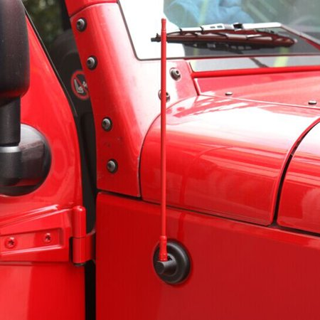 Antenna Replacement for Jeep Wrangler 2007-2017 Red | Walmart Canada