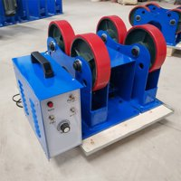 INTBUYING Tank Turning Rolls Linkage Roller for Welding Equipment Support 2200 LB 1T #022083