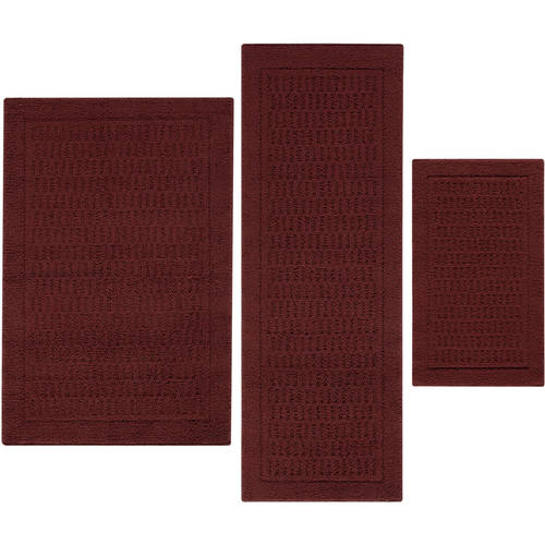 Upc 010892590374 Mainstays Dylan Nylon Accent Rugs Set
