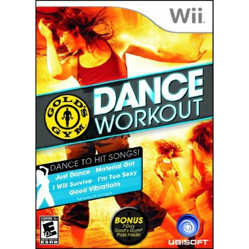 Gold's Gym Dance Workout Video Game: Nintendo Wii
