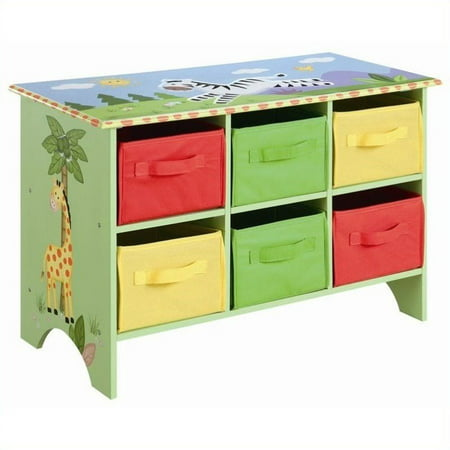 Jungle Basket - Fantasy Fields - Sunny Safari Storage Cubby Base Set