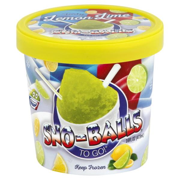 Snoballs To Go Lemon Lime 16oz Pint