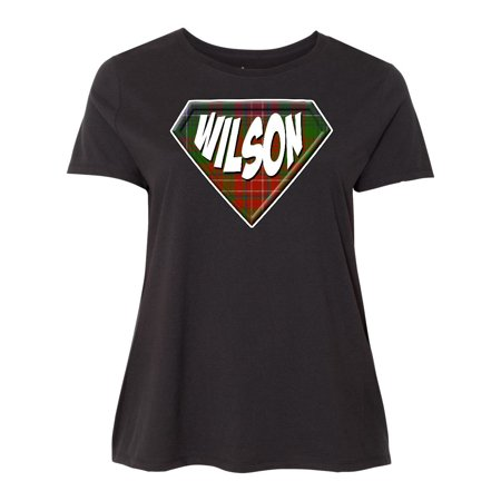 Plus Size Superhero (Wilson Tartan Superhero Women's Plus Size)