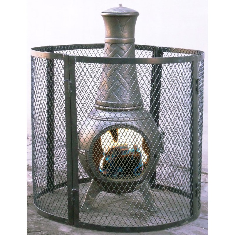Heat Protector Chimnea Screen