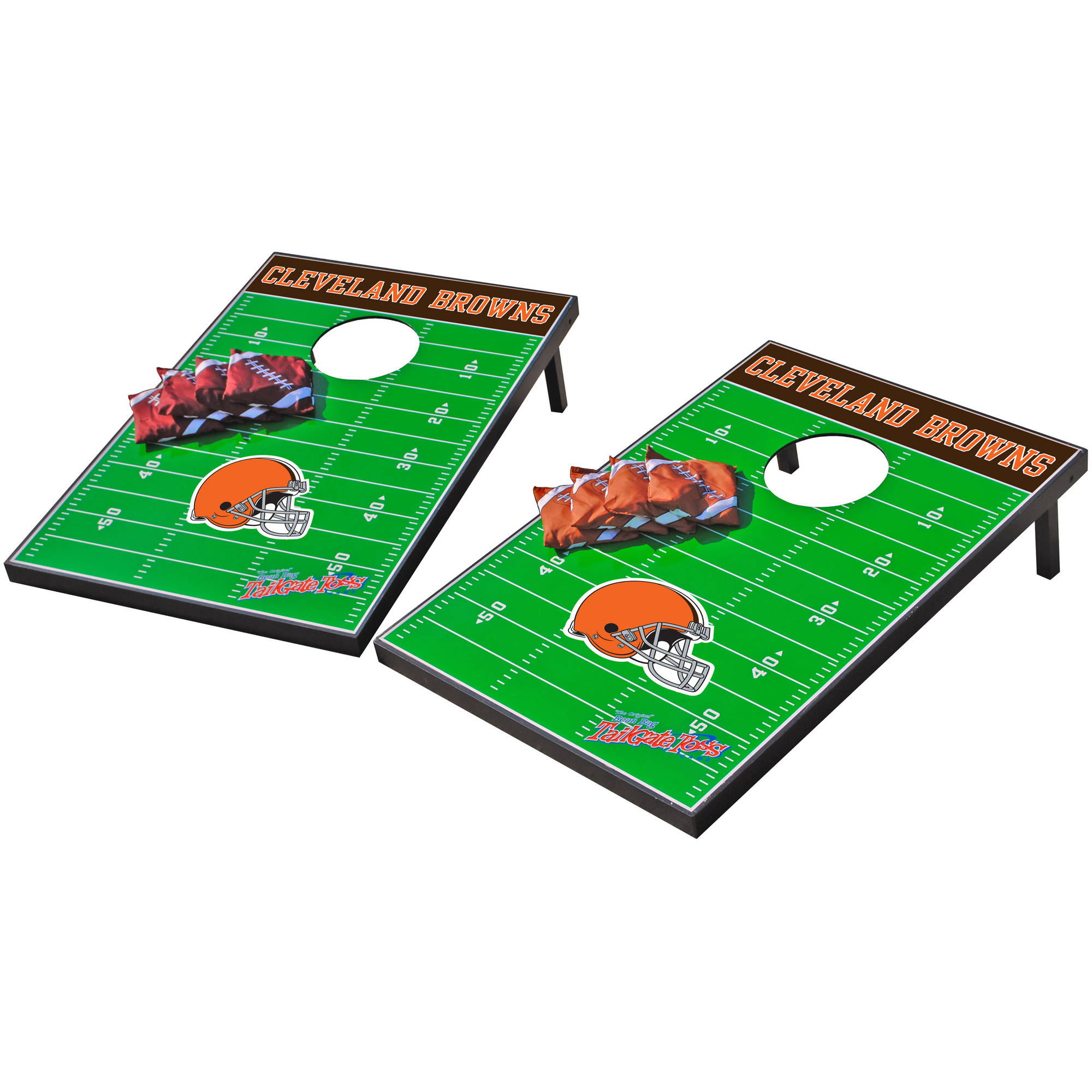Wild Sports NFL Cleveland Browns 2x3 Field Tailgate Toss