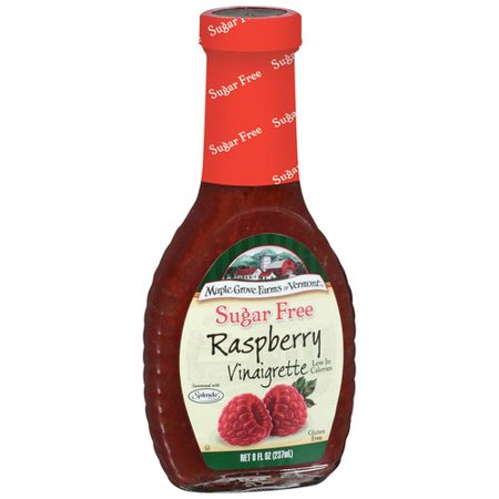 Maple Grove Farms Sugar Free Raspberry Vinaigrette Dressing  8 Oz
