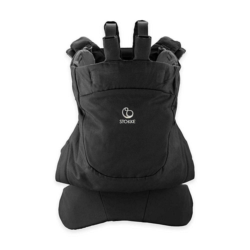Stokke mycarrier front and back carrier - black