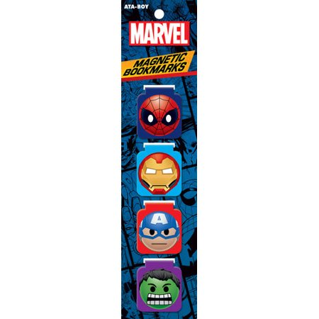 Marvel Comics Emoji Magnetic Bookmark Set (Marvel Film Cell Bookmark)