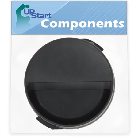 2260502B Refrigerator Water Filter Cap Replacement for Maytag MSD2574VEW10 Refrigerator - Compatible with WP2260518B Black Water Filter Cap - UpStart Components Brand - image 1 of 4