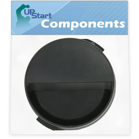 2260502B Refrigerator Water Filter Cap Replacement for Kenmore / Sears 10654794802 Refrigerator - Compatible with WP2260518B Black Water Filter Cap - UpStart Components Brand - image 1 de 4