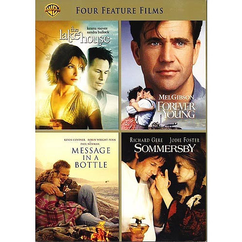 4 Film Favorites: Love Stories - The Lake House / Message In A Bottle / Forever Young / Sommersby