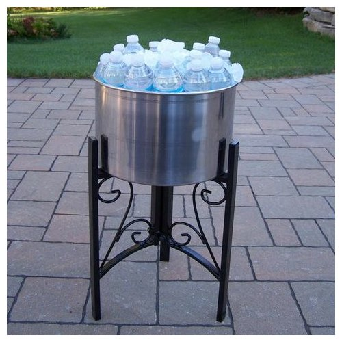 Oakland Living Coolers Stainless Steel Ice Bucket by Oakland Living