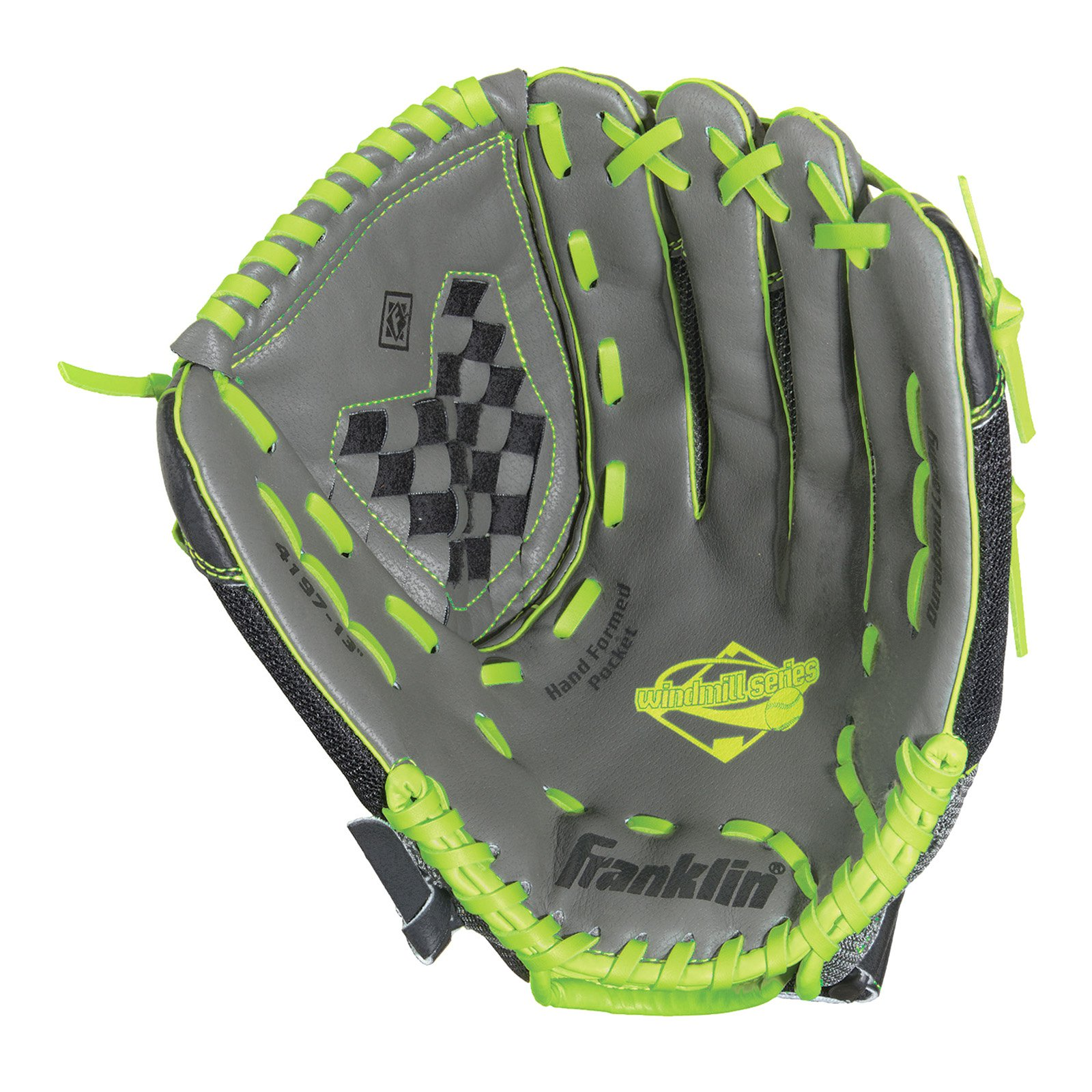 "Franklin Sports 11"" Mesh PVC Windmill Series Softball Glove, Left-Hand Throw"