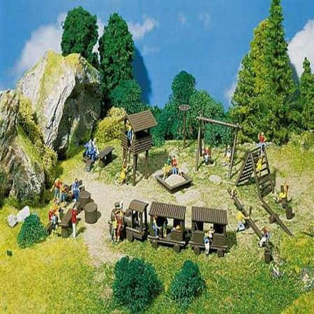 Faller 180577 Adventure Playground Era Iii - Playground Kit