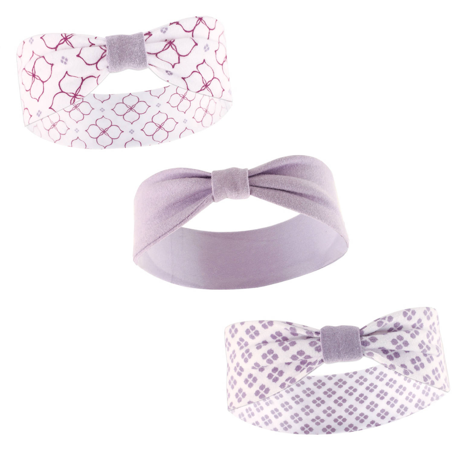 Yoga Sprout Newborn Baby Girls Headband 3-Pack - Petals