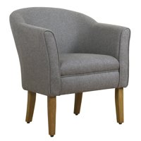 HomePop Modern Barrel Accent Chair, Multiple Colors