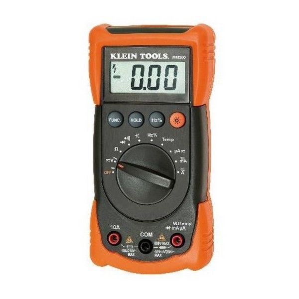 Brand New Klein Tools 72-8595 Auto Ranging Multimeter With Temperature
