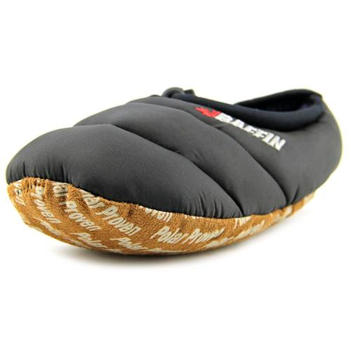 Baffin Cush Youth Youth US 1 Black Slipper