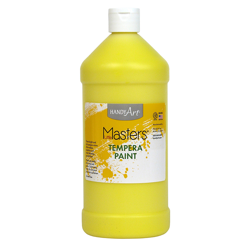LITTLE MASTERS YELLOW 32OZ TEMPERA PAINT
