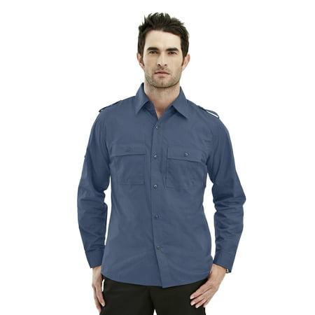 TMR Tmr 60/40 Easy Care Slim-Fit Long Sleeve Shirt. (Easy Fit Shirt)