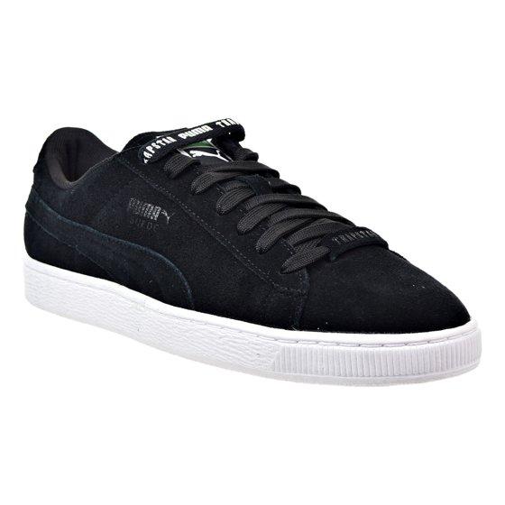 8d46632d4f2d78 Puma Suede X Trapstar Mens Shoes Black White361500-01 - Walmart.com