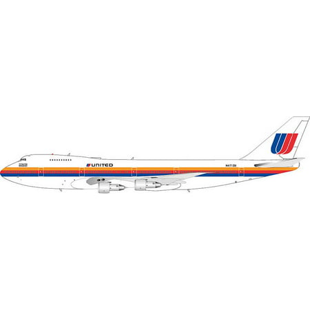 United Airlines 747 122 N4712u  The Original Eight   1 200  Saul Bass Livery