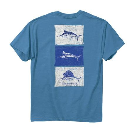 Fish Flags T Shirt Tide   Timber Royal Caribbean Adult Men 100  Cotton Short Sleeve