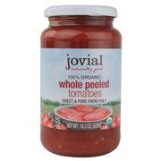 (6 Pack) Jovial Whole Peeled Tomatoes, 18.3 Oz