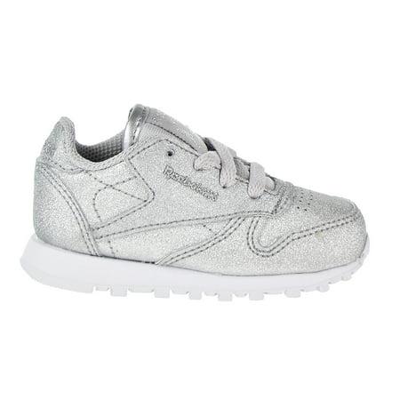 f17c605e Reebok - Reebok Classic Leather Syn Toddler's Shoes Silver Metallic ...