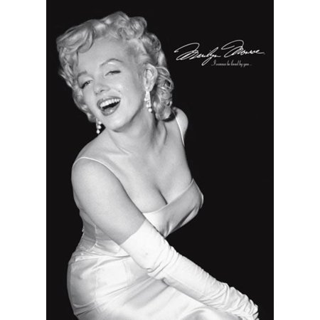 Marilyn Monroe Loved By You Hollywood Beauty Movie Star Icon Poster   24X36 Inch
