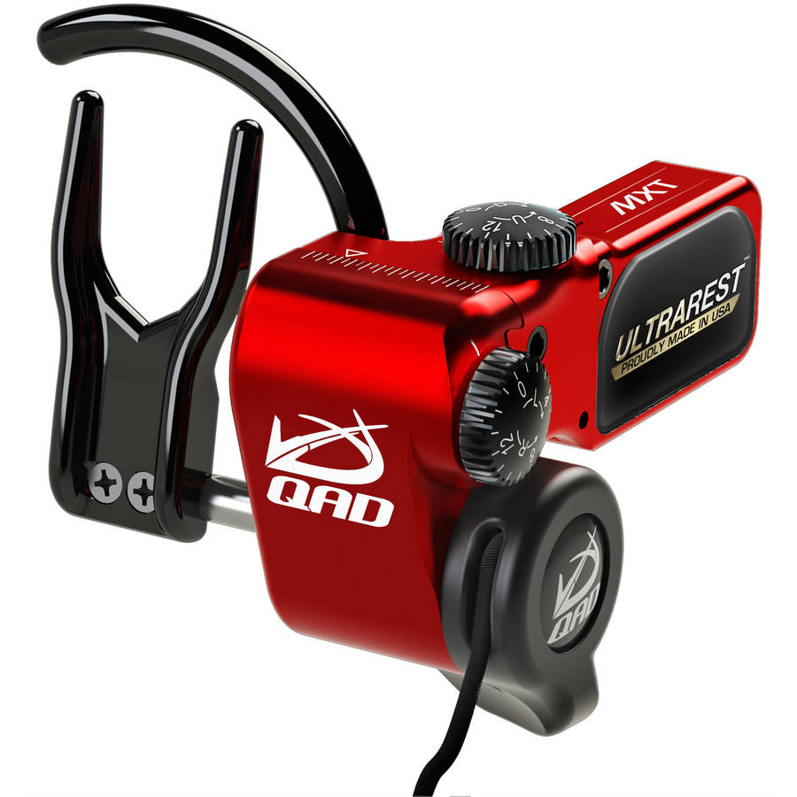 QAD UltraRest MXT, Red, RH