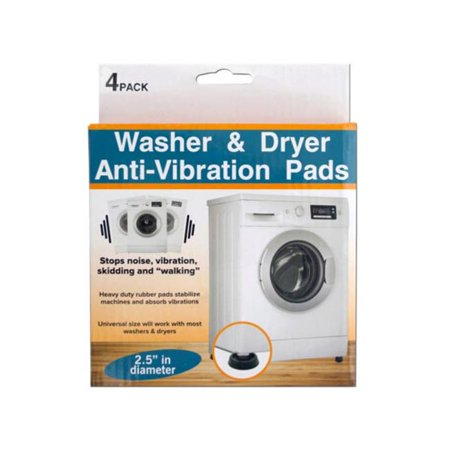 Kole Imports OT235-24 Washer & Dryer Anti-Vibration Pads Set - Pack of 24 - image 1 de 1