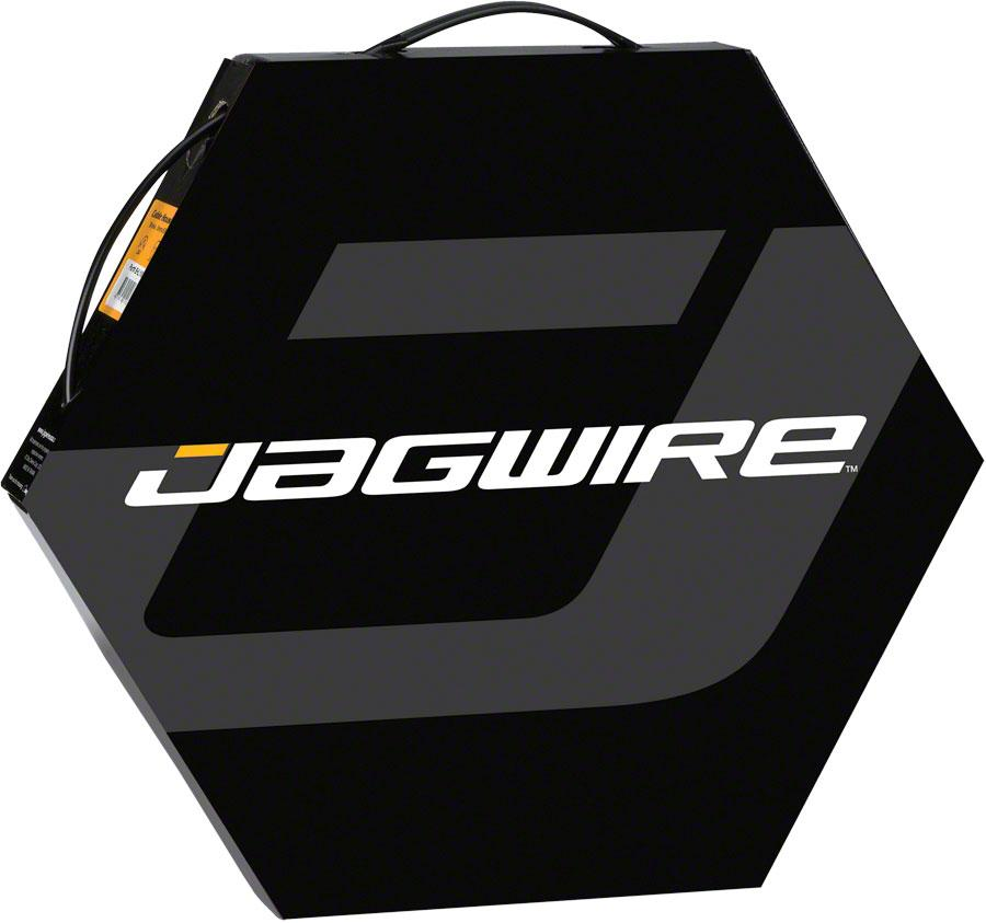 Jagwire 4mm Basics Derailleur Housing 50M File Box, Ice Gray