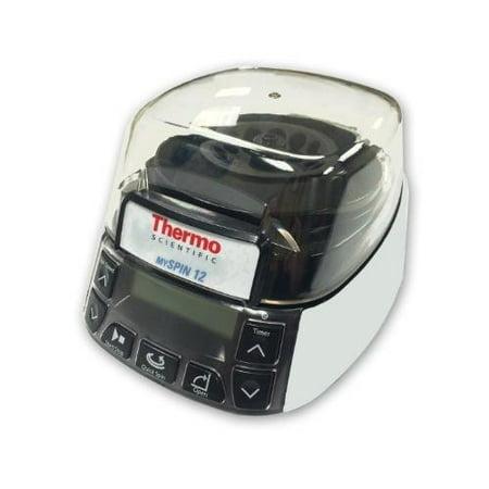 Thermo Scientific Centrifuge - Thermo Fisher Scientific 75004061 mySPIN 6 Mini Centrifuge, 6000 rpm, 100-240V, 50-60 Hz