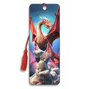 Red Dragon Bookmark by Artgame - BK115RDR
