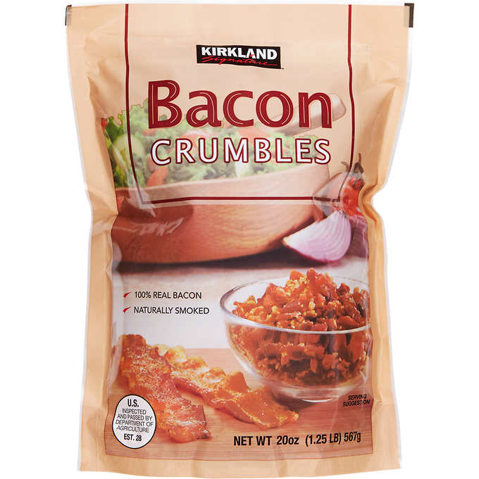 Kirkland Signature Crumbled Bacon, 20 oz. by