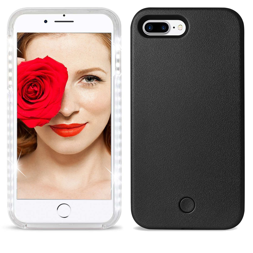 Apple IPhone 7 Plus LED Selfie Illuminates Light Up Glowing Case Cover