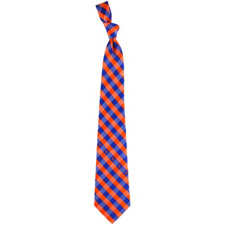 Henry New York Tie - New York Mets Woven Checkered Tie - No Size