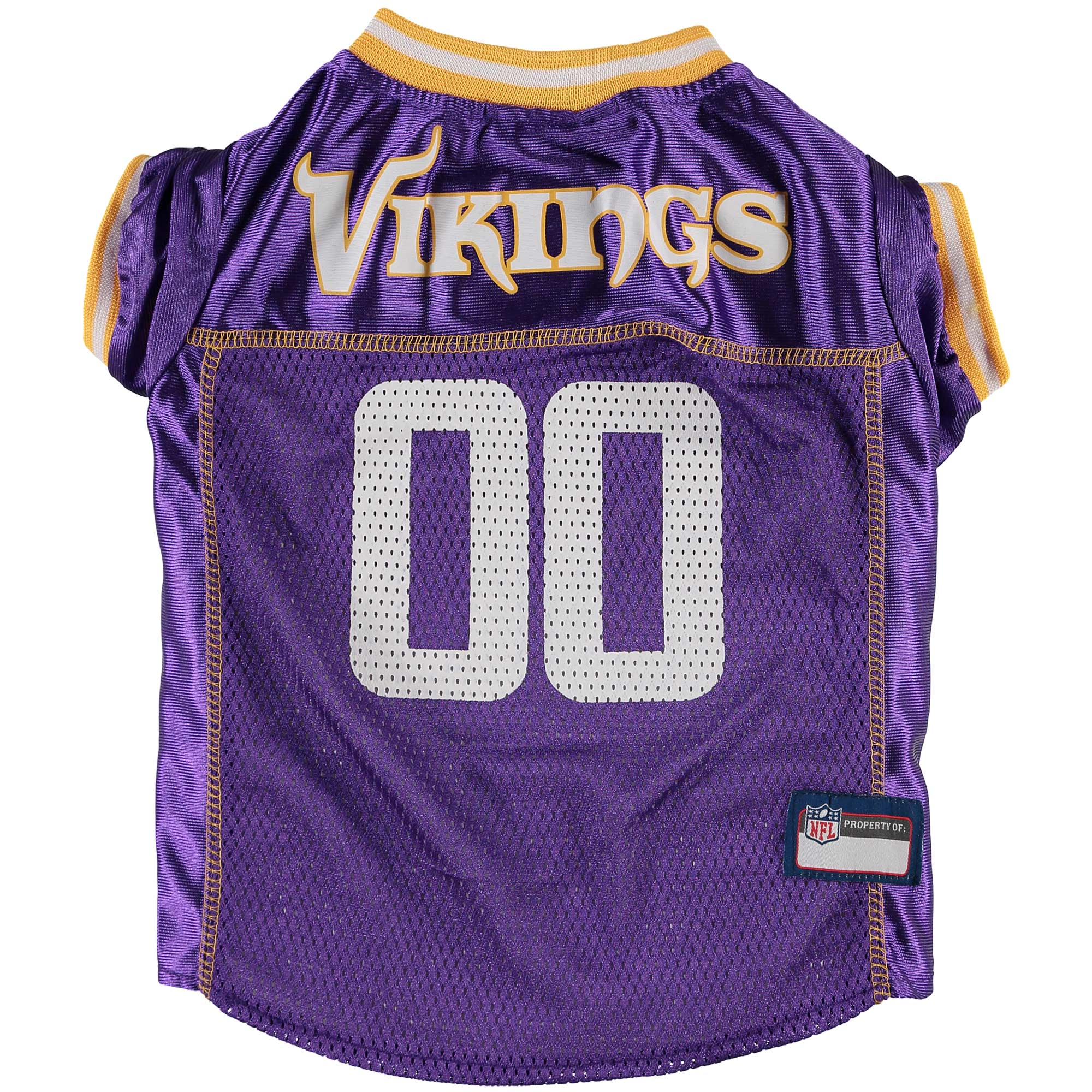 Minnesota Vikings Mesh Dog Jersey