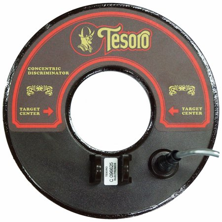 Tesoro 8 Inch Round Concentric Search Coil Brown With 3Ft Short Cable 8Rc Sw E