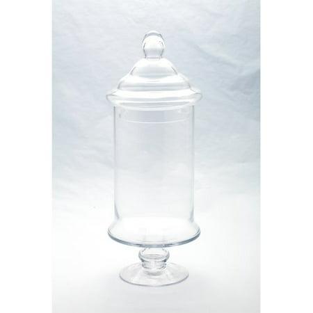 Diamond Star Glass Apothecary Jar