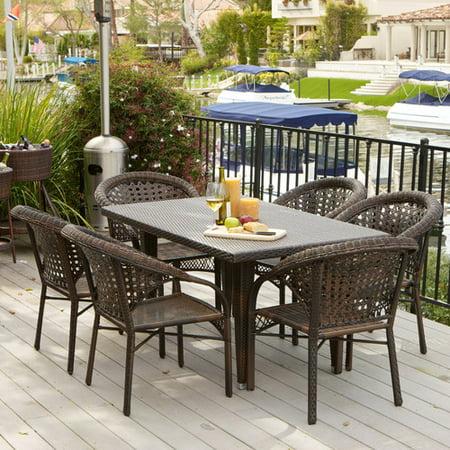 Home Loft Concepts Norwich 7 Piece Outdoor Dining Set
