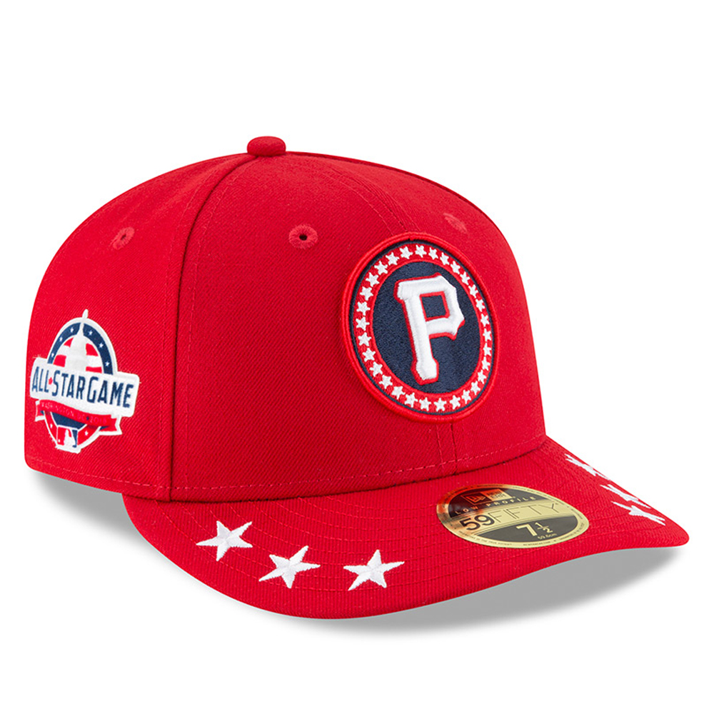 Pittsburgh Pirates New Era 2018 MLB All-Star Workout On-Field Low Profile 59FIFTY Fitted Hat - Red