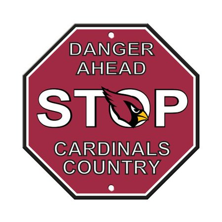 Nfl Pub Sign - Fremont Die NFL Stop Sign