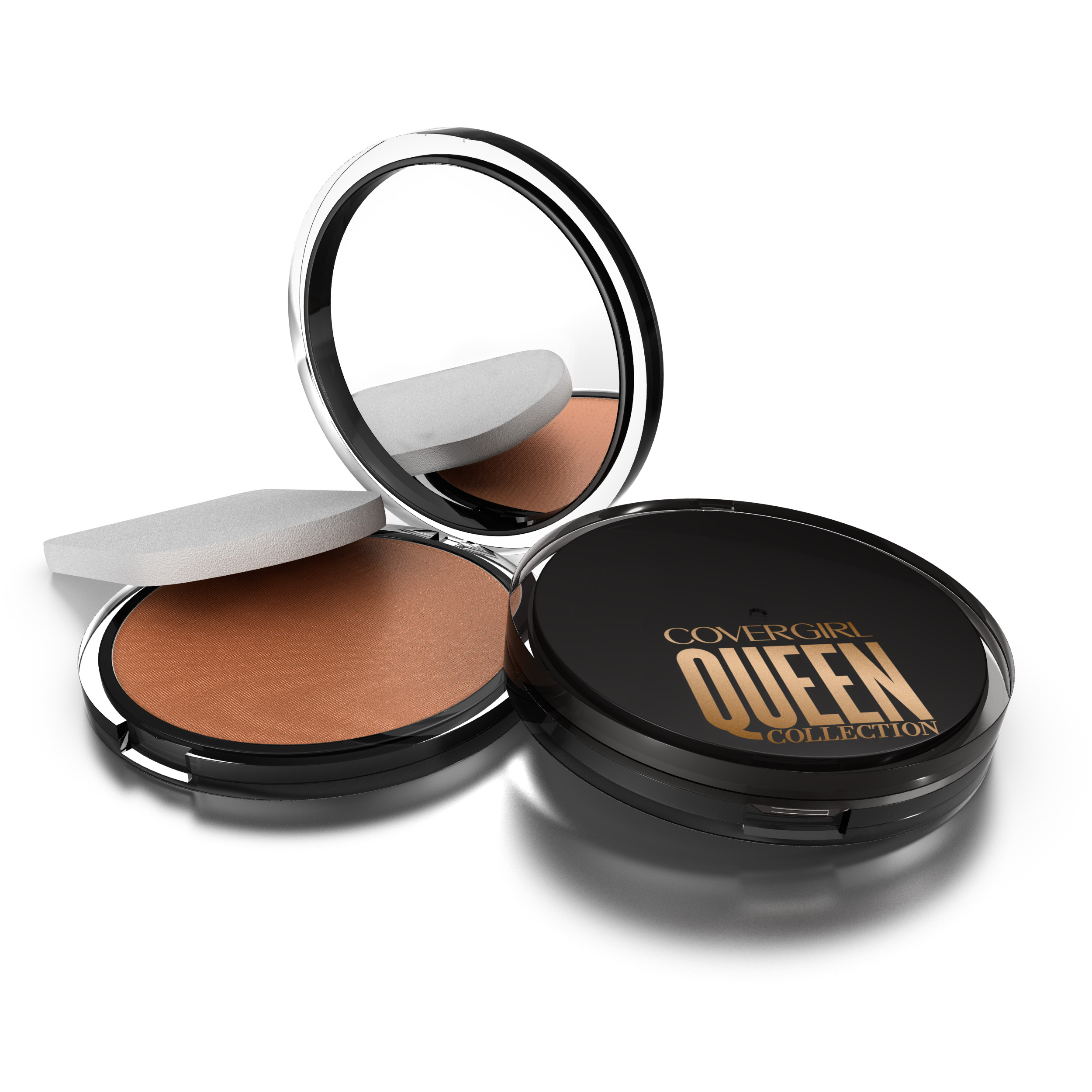 CG Queen Lasting Matte Pressed Powder Foundation Golden Medium