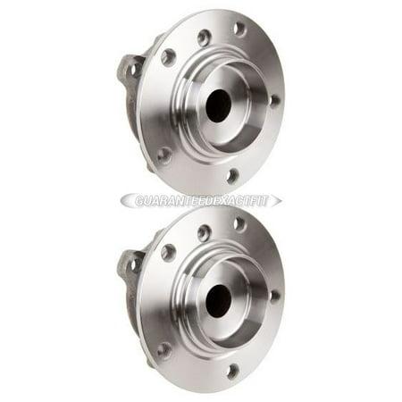 Pair Front Wheel Hub Bearing Assembly For BMW 525i 530i 645Ci 530xi 550i