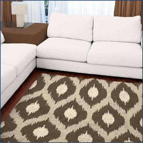 Spaces Home and Beyond Ikat Accent Rug