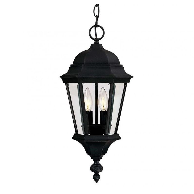 Savoy House Wakefield Hanging Lantern in Textured Black