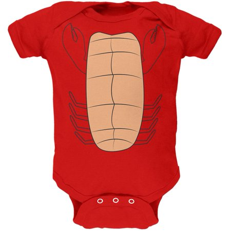 Halloween Lobster Costume Soft Baby One Piece](Lobster Costume Pattern)